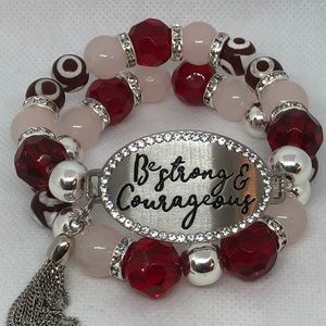 Be strong womans bracelet